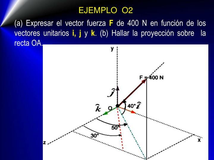 EJEMPLO  O2