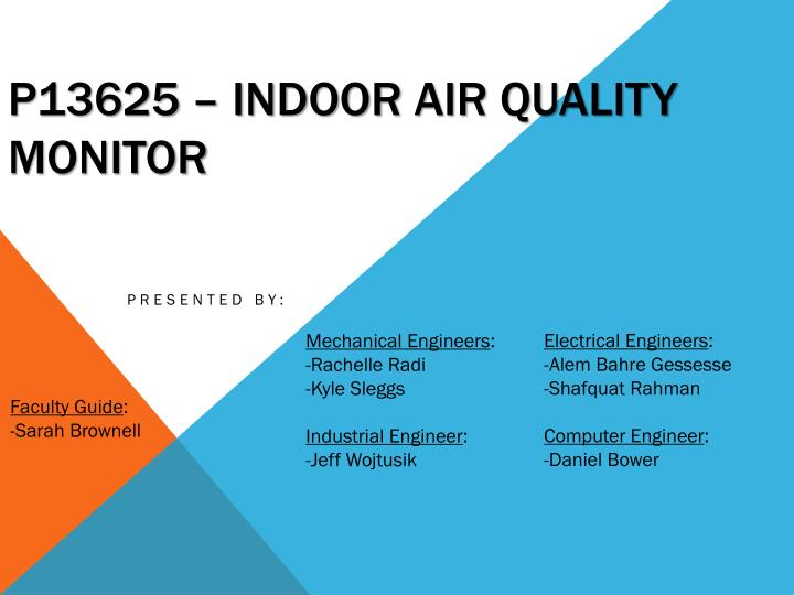P13625 – Indoor AIR Quality Monitor