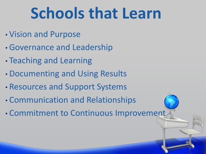 Schools that