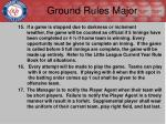 ground rules major2