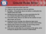 ground rules minor1