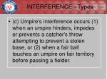 interference types3