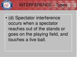 interference types4