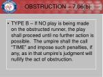 obstruction 7 06 b