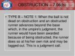 obstruction 7 06 b1