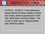 obstruction 7 06 b2