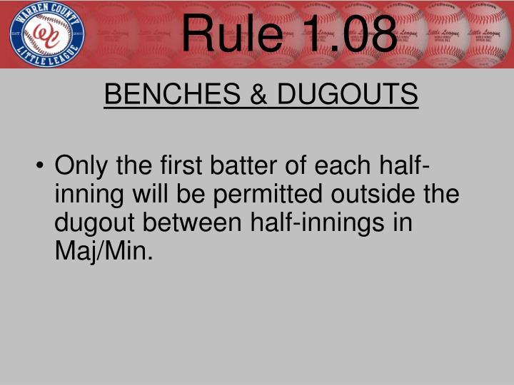Rule 1.08