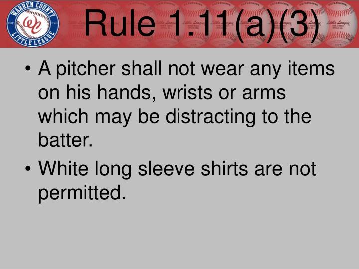 Rule 1.11(a)(3)