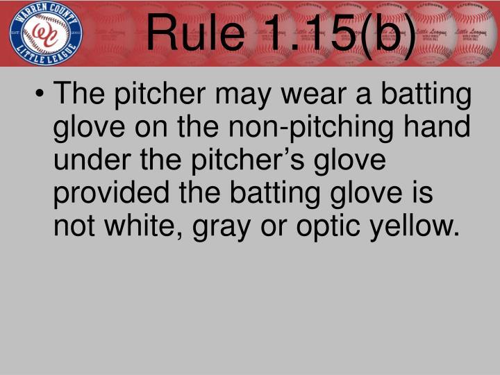 Rule 1.15(b)