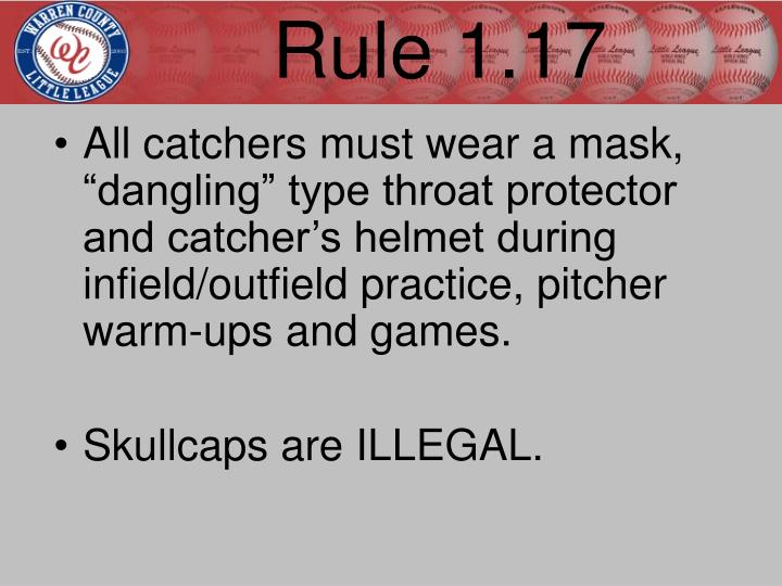 Rule 1.17