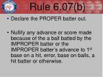 rule 6 07 b1