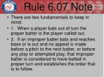 rule 6 07 note1