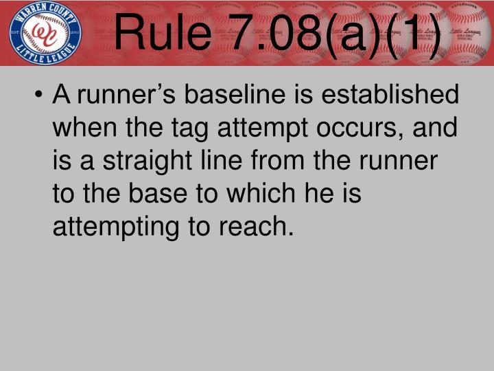 Rule 7.08(a)(1)
