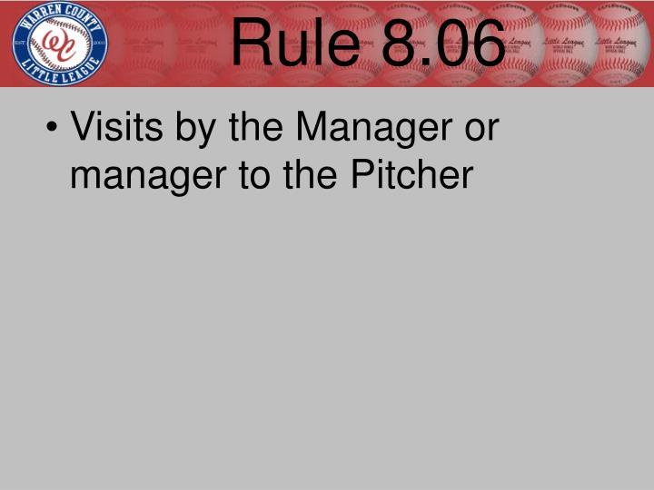 Rule 8.06