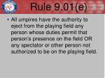 rule 9 01 e