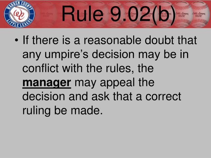 Rule 9.02(b)
