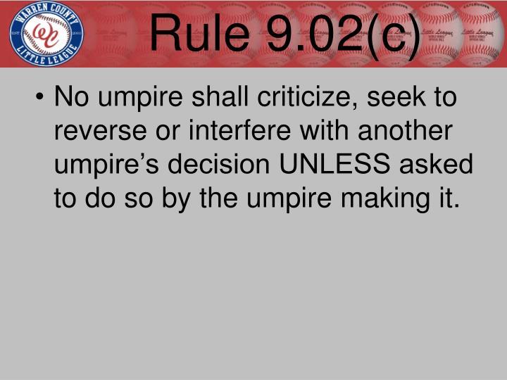 Rule 9.02(c)