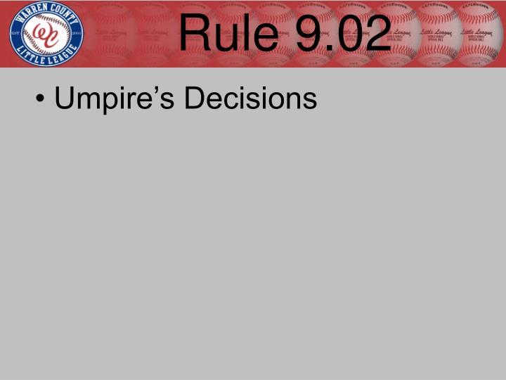 Rule 9.02