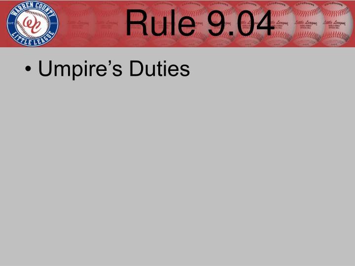 Rule 9.04