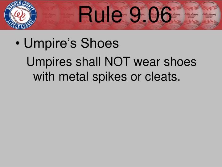 Rule 9.06