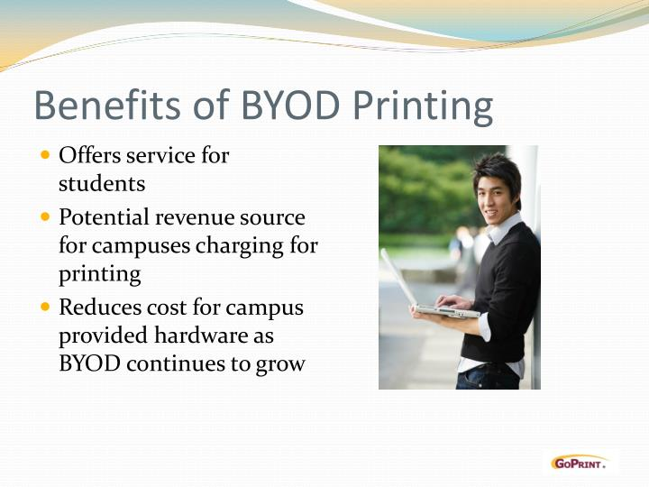 Benefits of BYOD Printing