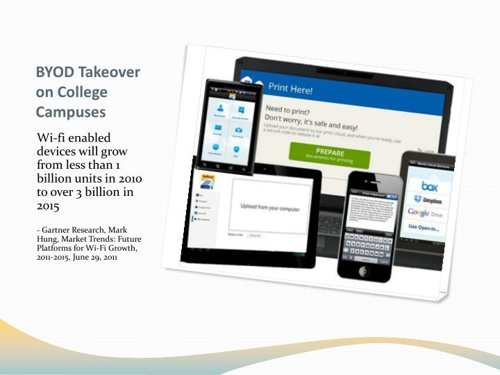 BYOD Takeover on College Campuses