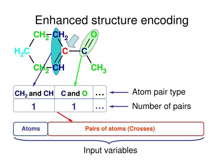 Enhanced structure encoding