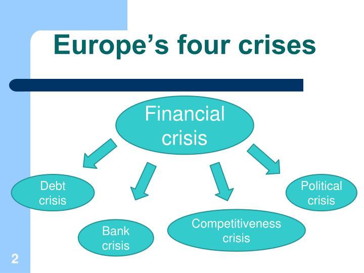 Europe's four crises