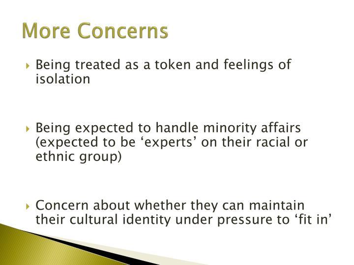 More Concerns