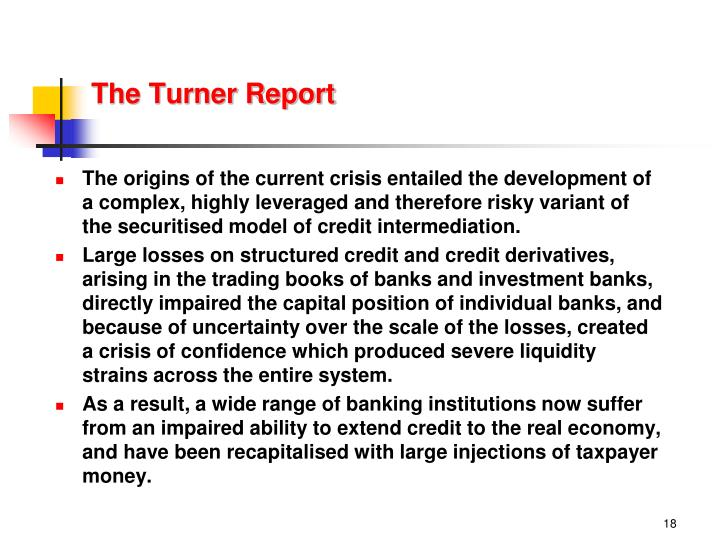 The Turner Report