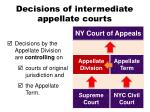decisions of intermediate appellate courts4