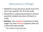 alternatives to polling