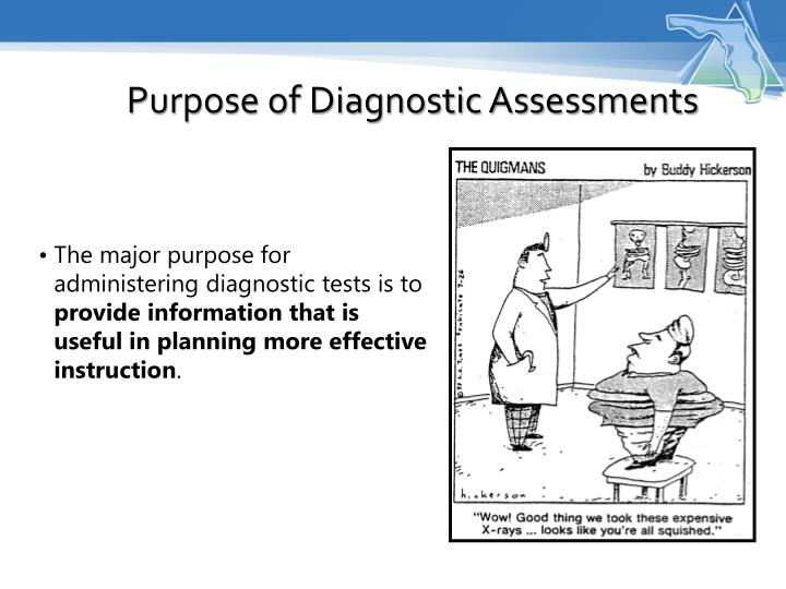 Purpose of Diagnostic Assessments