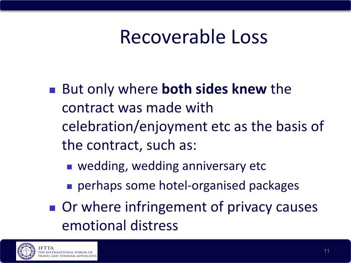 Recoverable Loss