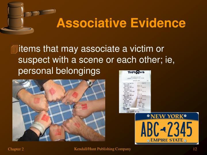 Associative Evidence