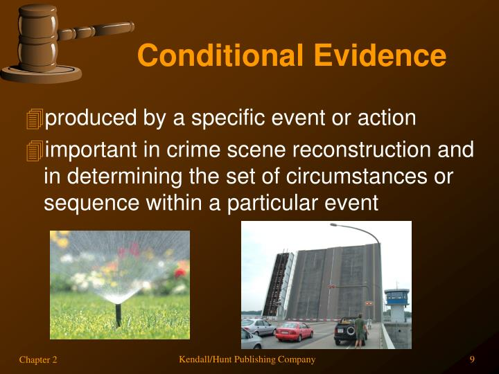Conditional Evidence