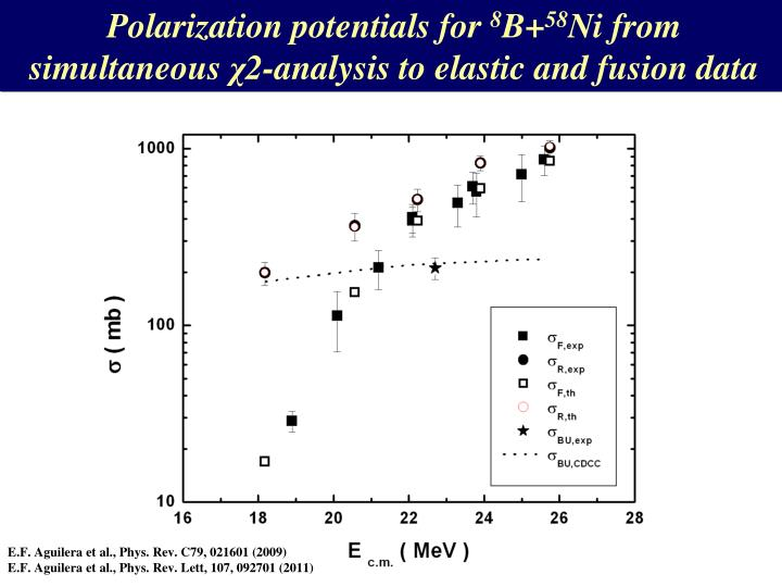 Polarization potentials for