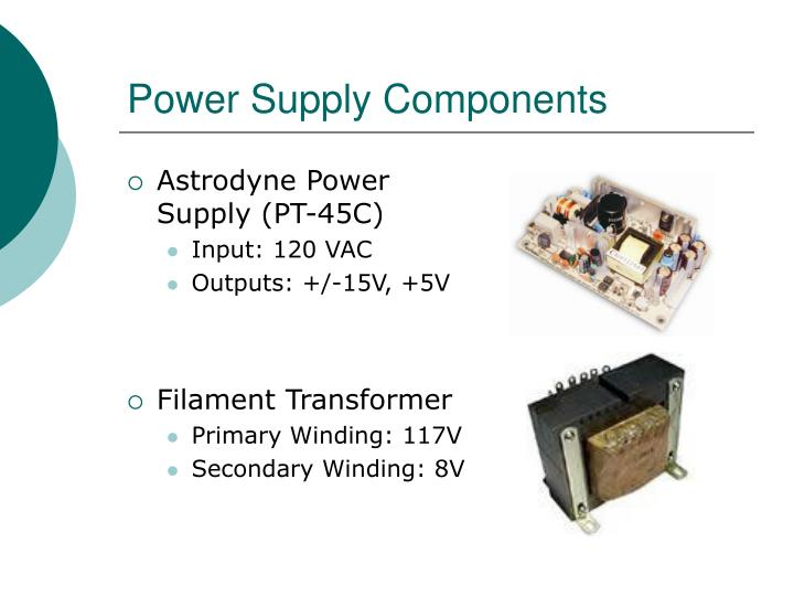 Power Supply Components