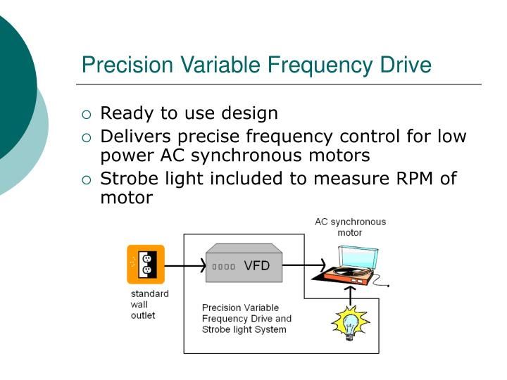 Precision Variable Frequency Drive
