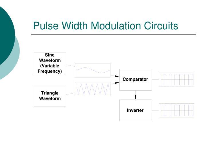 Pulse Width Modulation Circuits