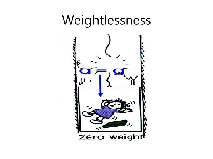 Weightlessness