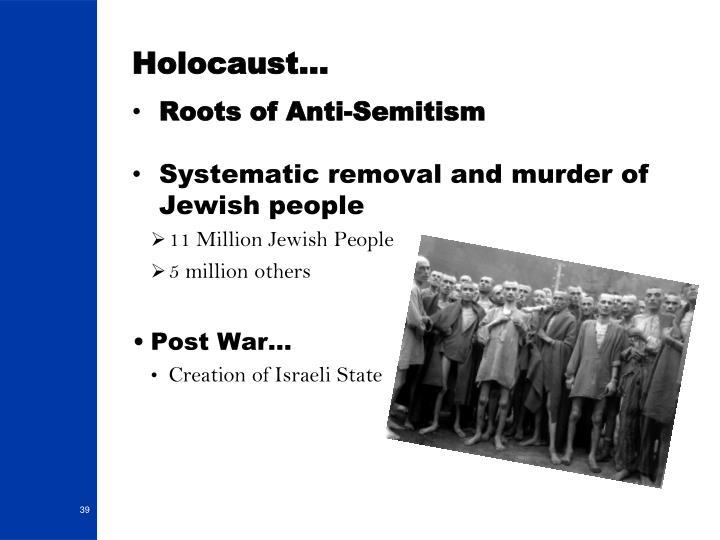 Holocaust…