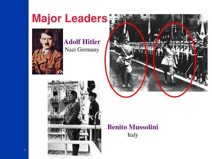 Major Leaders