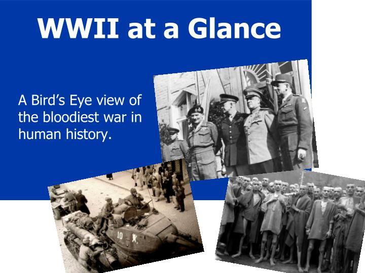 WWII at a Glance