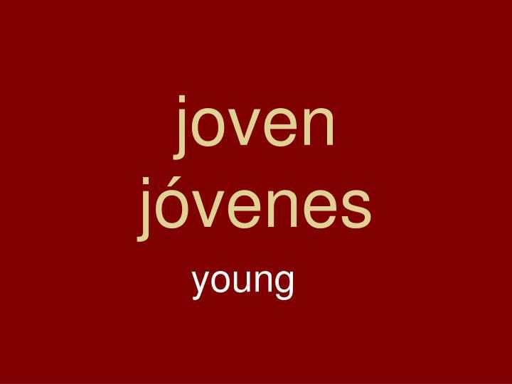 joven