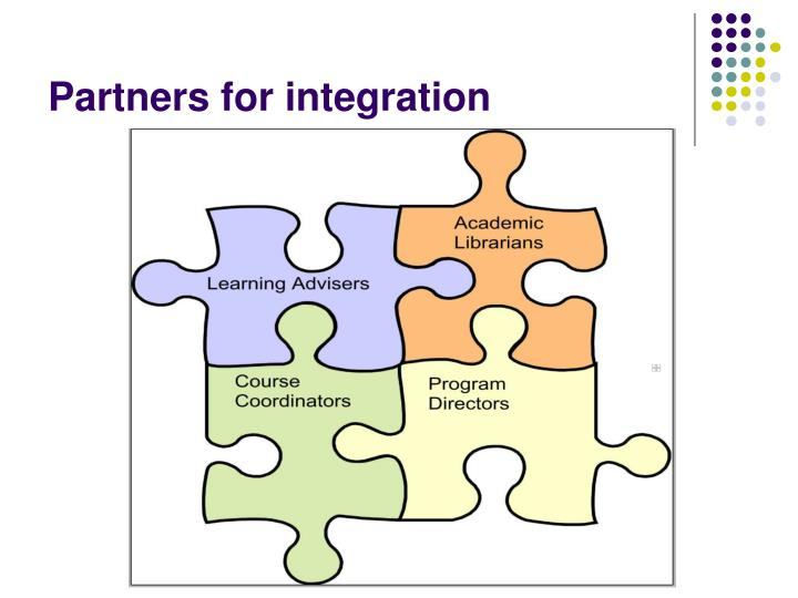 Partners for integration