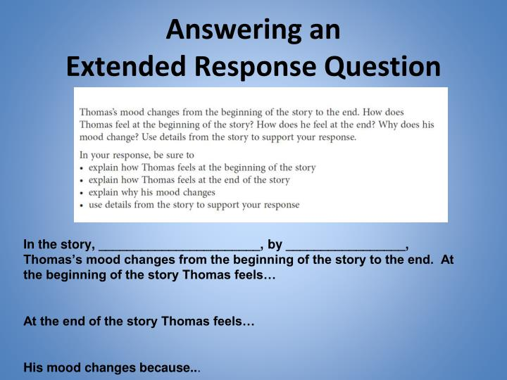 Answering an