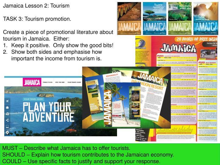 Jamaica Lesson 2: Tourism