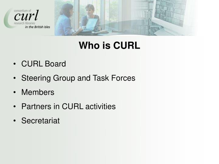 Who is CURL