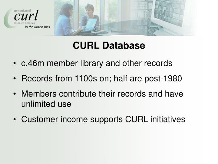 CURL Database